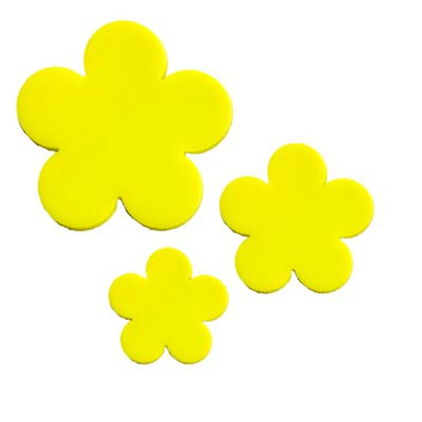 Precut Flower Bright Yellow - COE96