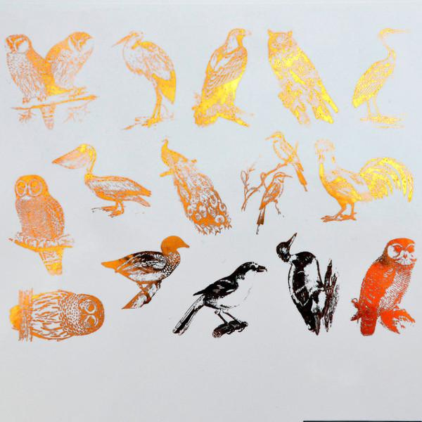 Birds Decals Sheet