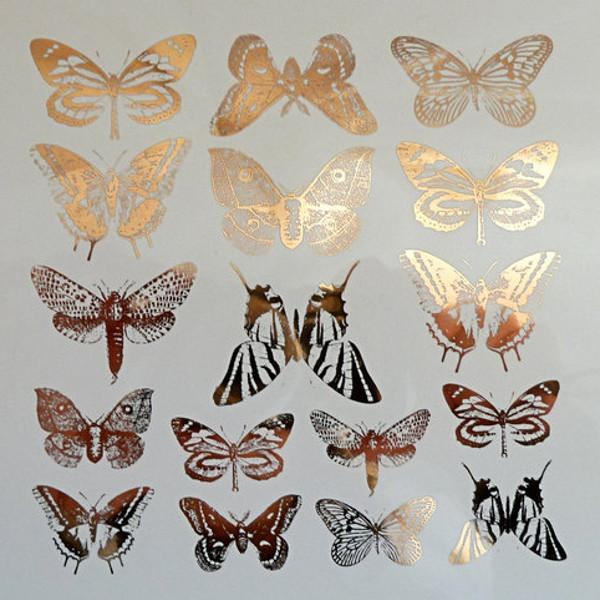 Butterflies Decal Sheet