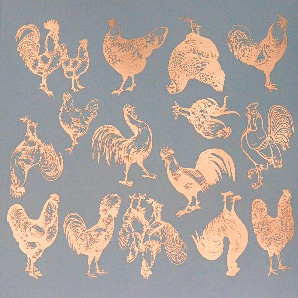 Chicken Decal Sheet