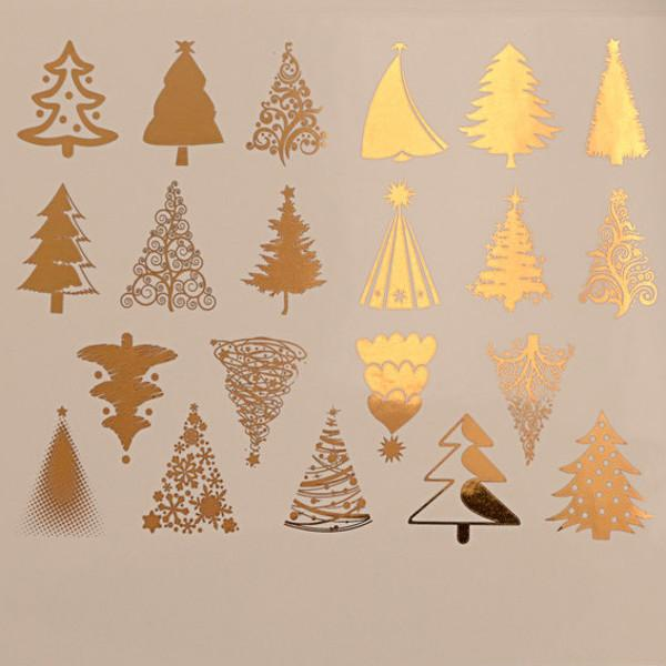 Christmas Tree Decal Sheet