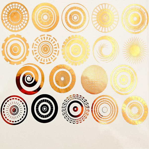 Circles Decal Sheet