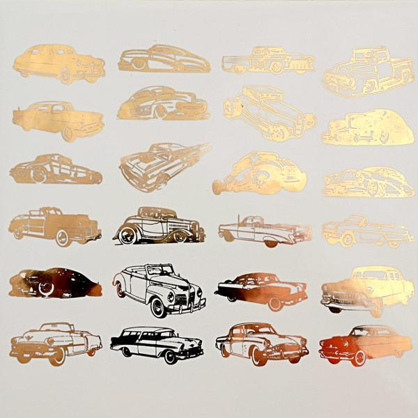 Classic Cars Decals Sheet